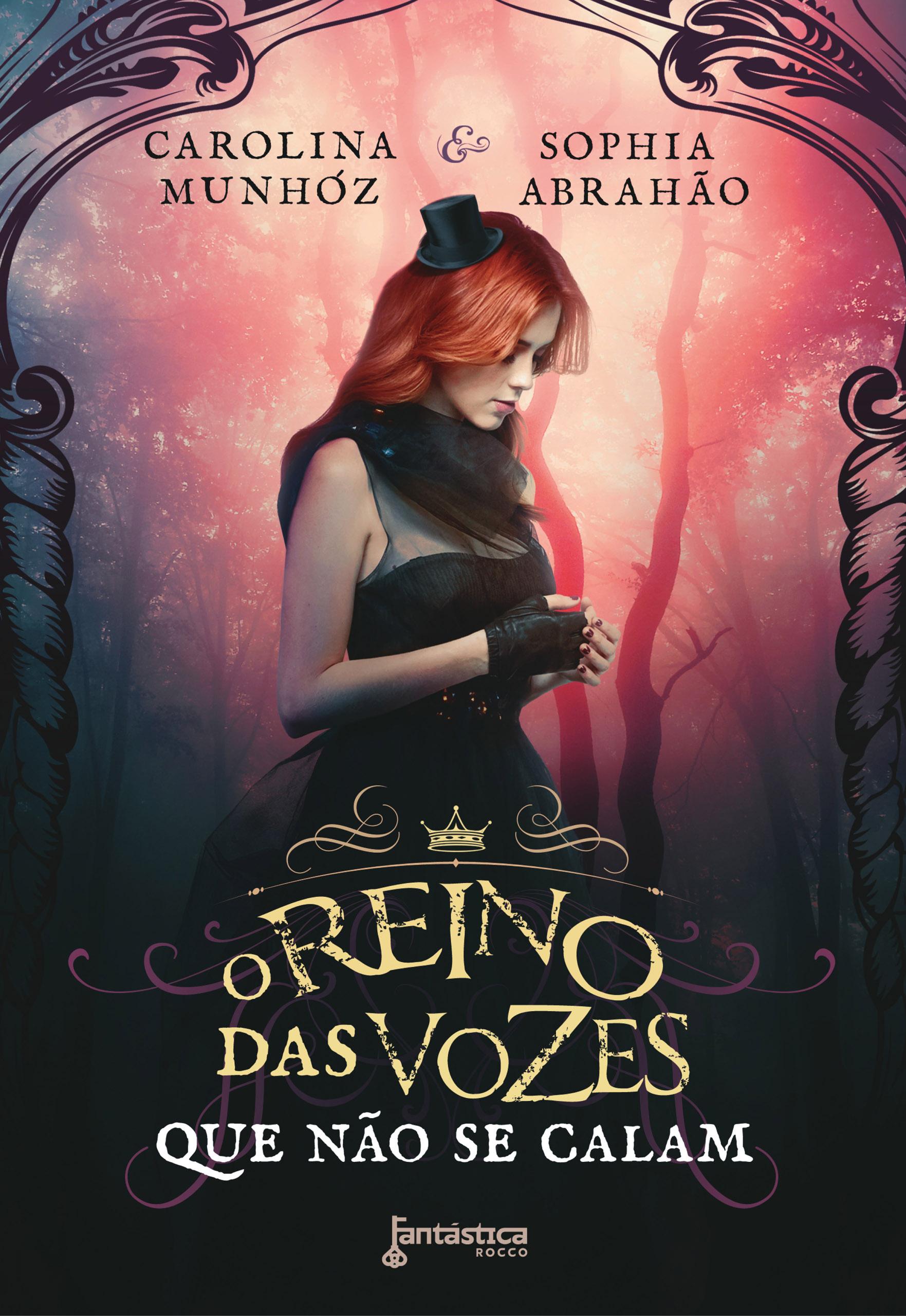 Capa – O Reino das vozes que não se calam – Carolina Munhóz e Sophia Abrahão